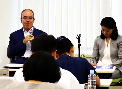 InterPraxis Director delivers keynote lecture in Tokyo on building responsible supply chains.